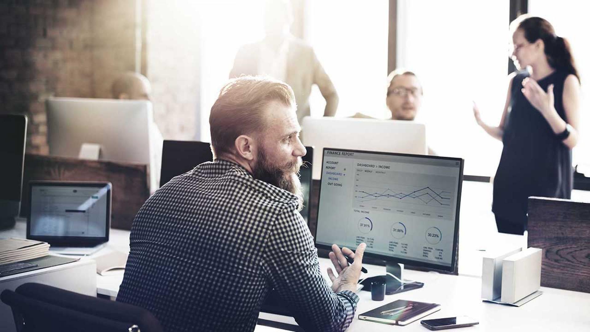 Zusammenarbeit und Digitalisierung im Büroalltag